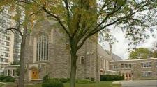St. John's Lutheran Church in Waterloo is seen on Thursday, Oct. 14, 2010.