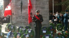 Remembrance Day Ceremonies in Kitchener