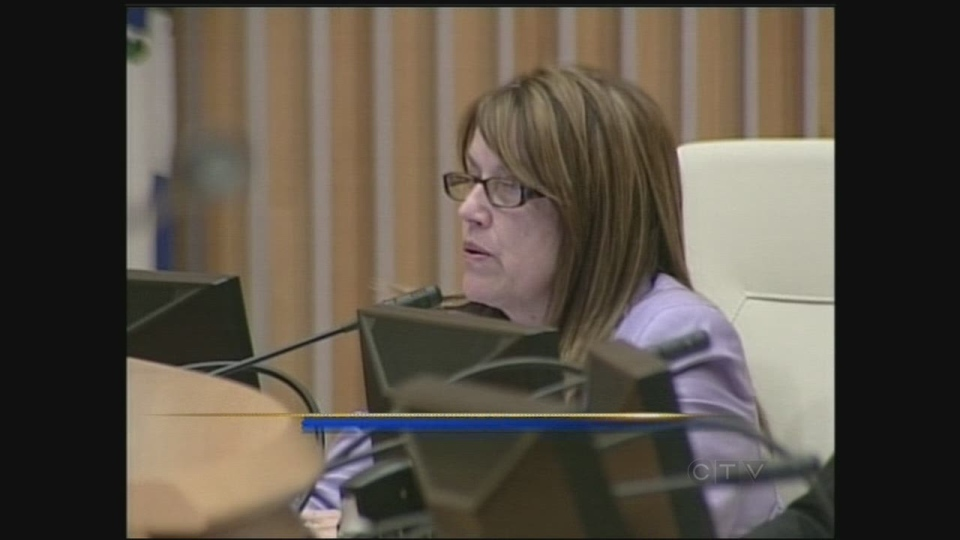 Cambridge city councillor Pam Wolf is seen in this file image from April 2012.