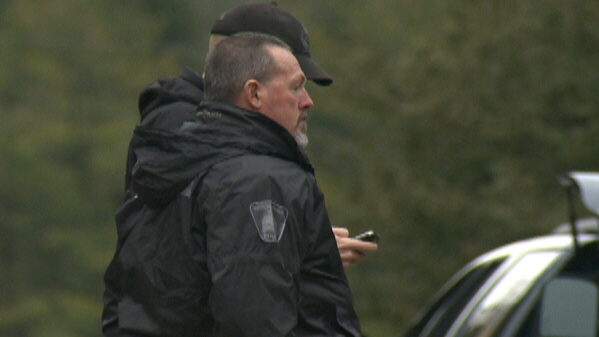 The search for suspect in Woolwich Township continues