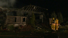 House explosion near Mount Forest