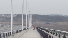 Fairway Road extension and bridge officially opens.