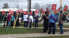 Teachers protest Waterloo