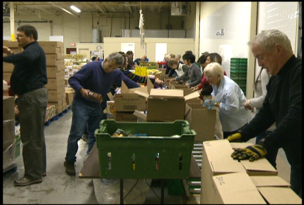 A recent Food Banks Canada report stated that roughly 850,000 people rely on food banks each month.