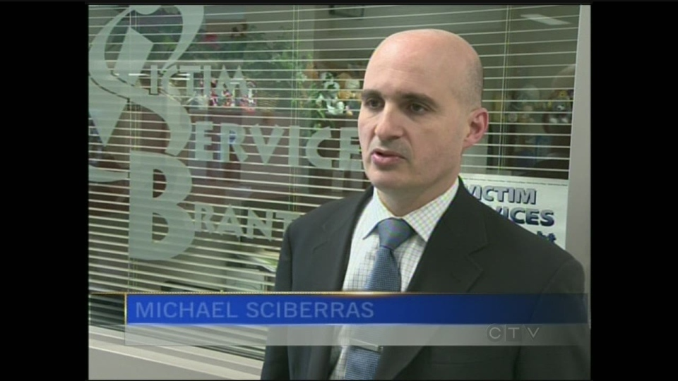 Det. Michael Sciberras of the Brantford Police is seen on Thursday, Dec. 27, 2012. (CTV Kitchener)