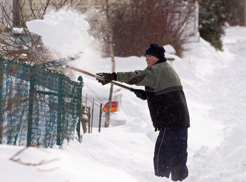 Winter Storm Southern Ontario: Ready For A Heavy Dig Out? More Slushy Snow On The Way For