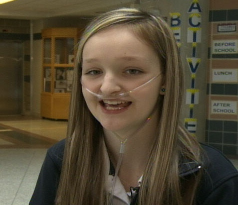 Kayla Baker as seen in this video still from January 2013.