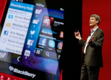 CEO BlackBerry Thorsten Heins