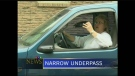 CTV Kitchener: Narrow underpass
