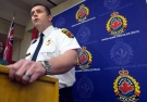 Hamilton Police Supt. Dan Kinsella speaks during a press conference on the Tim Bosma case in Hamilton, Ont., on Wednesday, May 22, 2013. (Nathan Denette / THE CANADIAN PRESS)