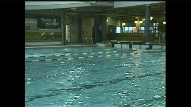 a wingham swimmer gets ready to swim across lake huron ctv kitchener news