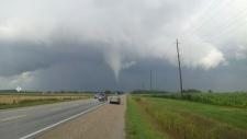 Tornado warning for Ontario