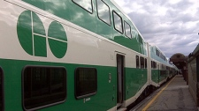 A GO Transit train