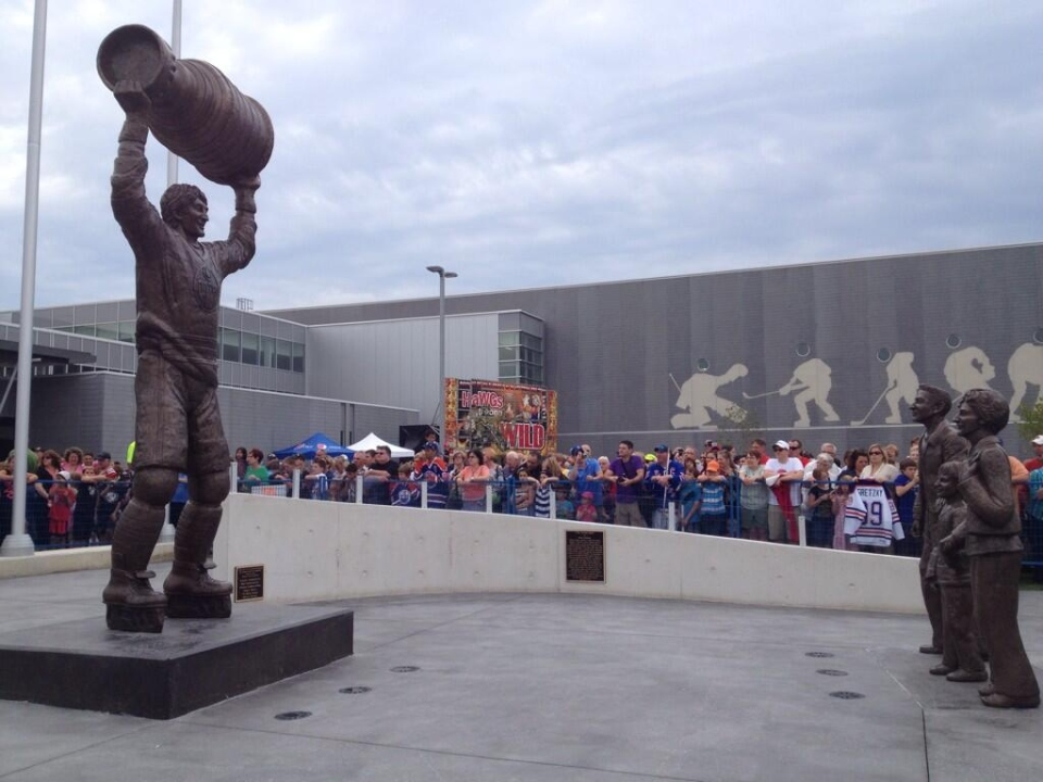 Wayne Gretzky Returns Home For Grand Opening Of Sports Centre Ctv Kitchener News