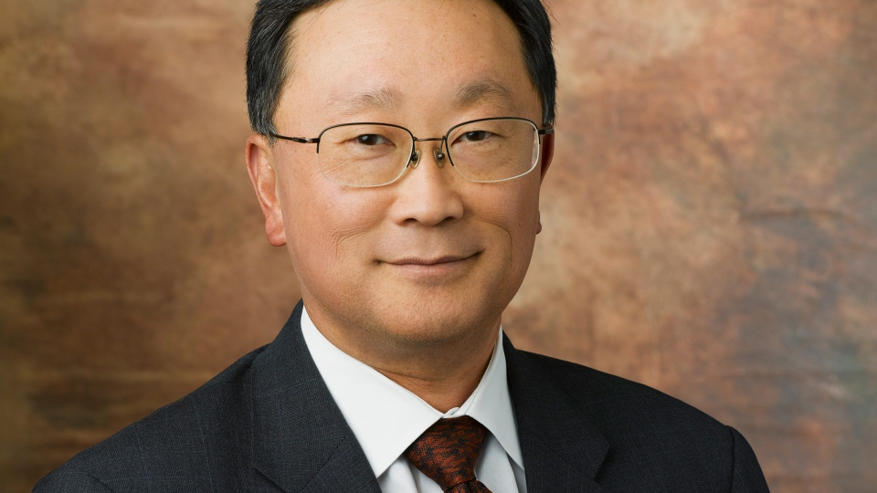John Chen has been named the interim CEO of BlackBerry. Chen, seen here in this Walt Disney Company image, has also been a director at Disney since 2004.
