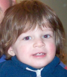 Robbie Reiner seen two years ago at age 3