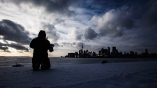 Toronto deep freeze harbour
