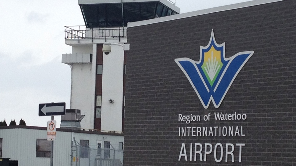 The Region of Waterloo International Airport is seen on Thursday, Jan. 16, 2014. (David Imrie / CTV Kitchener)