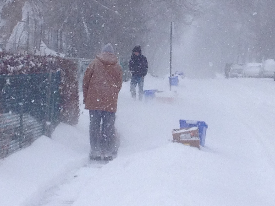 Kitchener Weather: Many Still Digging Out As Snowfall Warnings End
