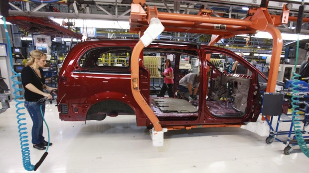 Fiat-Chrysler continues contract talks with Canadian workers