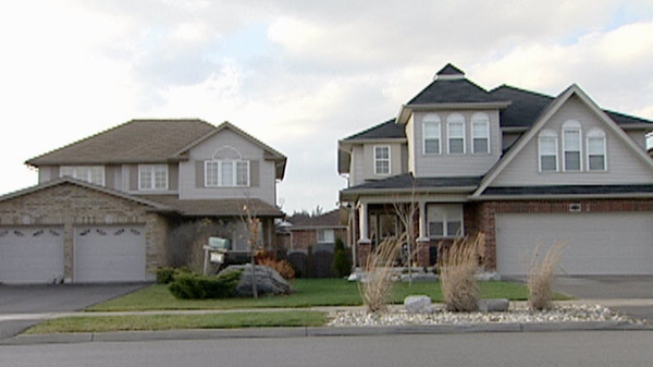 Searches at two south end homes led to a number of drug arrests in Guelph, Ont. late Wednesday, Nov. 9, 2011.