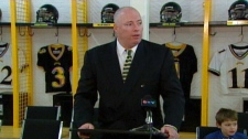 Dennis McPhee has stepped down as Head Football Coach at the University of Waterloo.