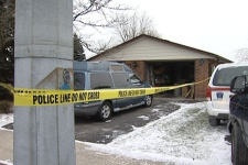 A 58-year-old Guelph woman is dead following a house fire on Saturday morning.