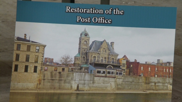 Galt post office plan
