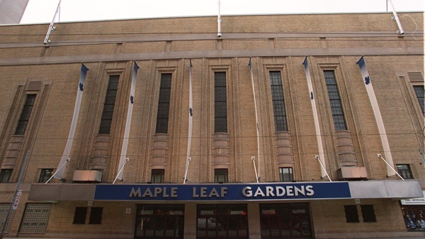 Maple Leaf Gardens is seen in this Feb.24, 1997 photo.  (Frank Gunn / THE CANADIAN PRESS)