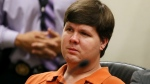 Justin Ross Harris, the father of a toddler who died after police say he was left in a hot car for about seven hours, sits for his bond hearing in Cobb County Magistrate Court, Thursday, July 3, 2014, in Marietta, Ga. (AP Photo/Marietta Daily Journal, Kelly J. Huff, Pool)