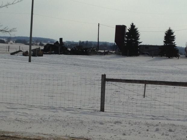Barn fire near Woodstock kills horse - CTV News