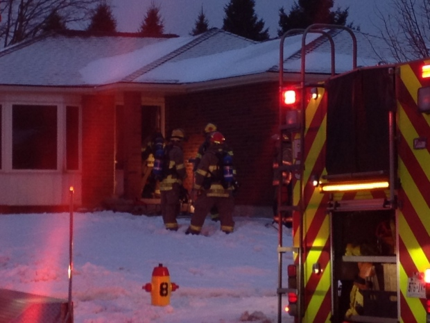 House fire in Kitchener causes heavy smoke damage | CTV ...