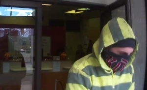 Surveillance footage of alleged Cambridge bank robber released