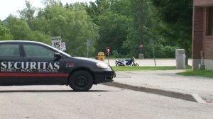 Fatal motorcycle crash at Conestoga College