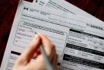 A T1 General 2010 tax form is pictured in Toronto on April 13, 2011. (Chris Young / THE CANADIAN PRESS)