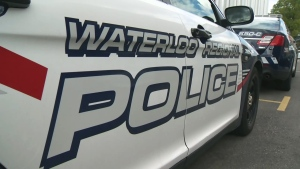 A Waterloo Regional Police cruiser is seen in Kitchener on Monday, Aug. 24, 2015.