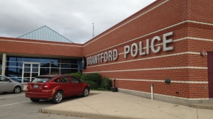 The Brantford Police station on Elgin Street is pictured on Wednesday, Sept. 30, 2015. (Brian Dunseith / CTV Kitchener)