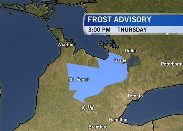 Weather Kitchener: CTV Kitchener: Oct. 1 Weather Update