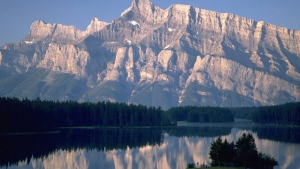 A view of Two Jack Lake in Banff National Park is shown in this undated handout photo. (HO - Travel Alberta / THE CANADIAN PRESS)