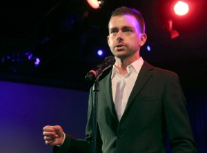 In this April 24, 2013, file photo, Twitter co-founder and Chairman Jack Dorsey speaks at a campaign fundraiser for Democratic Candidate for Public Advocate Reshma Saujani, in New York. (Mary Altaffer / AP Photo)