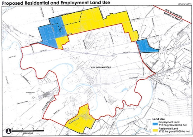 Boundary deal Brant County ceding 2454 hectares to Brantford CTV