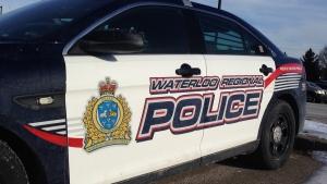 A Waterloo Regional Police cruiser is shown in Cambridge on Wednesday, Jan. 6, 2016. (Matt Harris / CTV Kitchener)