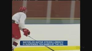 CTV Kitchener: Waterloo hockey product suspended