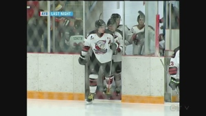CTV Kitchener: Ayr suffers home-ice setback