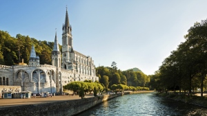 The Cathedral of Lourdes is pictured. (Nikada/Istock.com)
