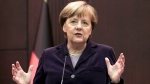 German Chancellor Angela Merkel speaks to the media during a joint news conference with Turkish Prime Minister Ahmet Davutoglu in Ankara, Turkey, Monday, Feb. 8, 2016 (AP / Burhan Ozbilici).