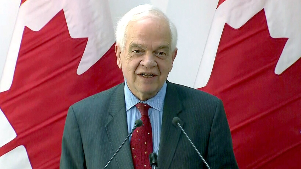 Immigration Minister John McCallum announces the government's new immigration targets in Brampton, Ont., on Tuesday, March 8, 2016.