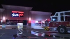 A Shoeper shoe store in Kitchener flooded after a sprinkler system malfunctioned.