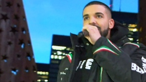 CTV News Channel: Drake at Jurassic Park
