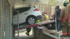 car into dance studio beaches